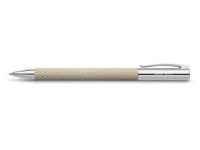 , balpen Faber Castell Ambition OpArt `wit zand`