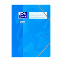 , Elastomap Oxford Touch A4 blauw