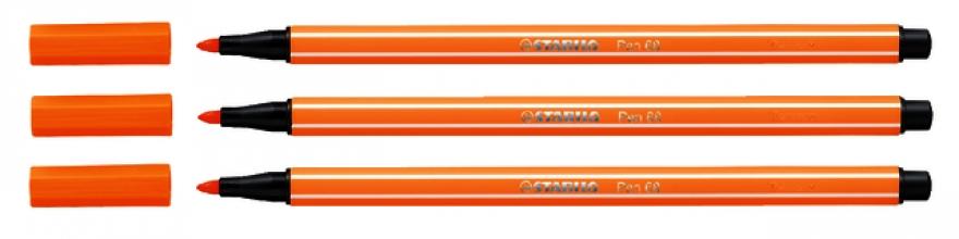 , Viltstift STABILO Pen 68/54 oranje