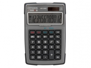 , Calculator Citizen outdoor desktop Business Line, grijs
