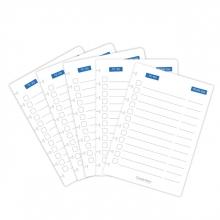 , Uitbreidingsset Correctbook A5 met 5 to-do bladen