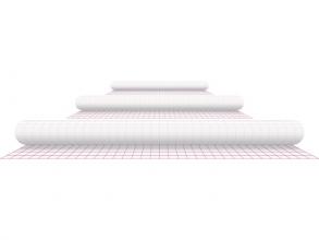 , Kaftplastic Boeklon 33cmx2,5m zelfklevend  transparant