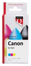 , Inktcartridge Quantore Canon CL-513 kleur