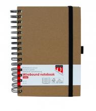 , Notitieboek Quantore A5 spiraal kraft