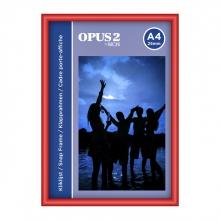 , Kliklijst OPUS 2 A4 25mm rood