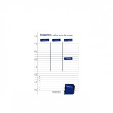 , Correctbook A5 set met 5 planner pagina`s
