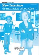 New Interface Blue label - Grammatica scheurblok 1 set à 5 ex Grammatica scheurblok 1