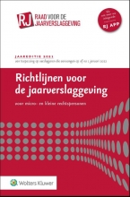 , Richtlijnen voor de jaarverslaggeving voor micro- en kleine rechtspersonen 2021