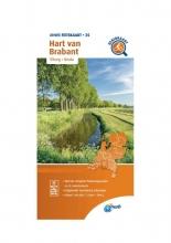 ANWB , Fietskaart Hart van Brabant 1:66.666