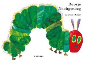Eric  Carle Rupsje Nooitgenoeg reuzen-kartonboek