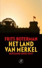 Frits  Boterman Het land van Merkel