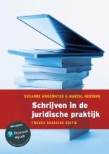 Marcel Heerink Suzanne Hoogwater, Schrijven in de juridische praktijk, 2e herziene editie met MyLab NL toegangscode