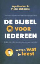 Pieter Siebesma Age Romkes, De Bijbel voor iedereen