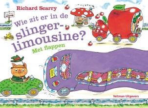 Richard  Scarry Wie zit er in de slinger-limousine?