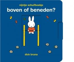 Dick  Bruna nijntje schuifboekje, boven of beneden?
