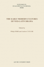 , The early modern cultures of neo-Latin drama