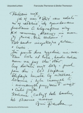 Stefan  Themerson, Franciszka  Themerson Unposted Letters