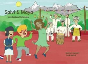 Mariem  Aameyri Salvi & Maya ontdekken Colombia