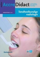 Paul van der Stelt , Tandheelkundige radiologie