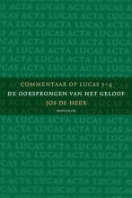 Jos de Heer , 3-pak Commentaar op Lucas