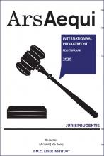 Michiel de Rooij , Jurisprudentie Internationaal Privaatrecht 2020