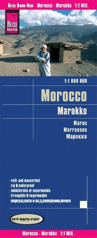 ,Reise Know-How Landkarte Marokko (1:1.000.000)