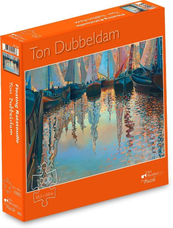 ,Ton Dubbeldam - Floating Ratatouille - Puzzel 1000 stukjes