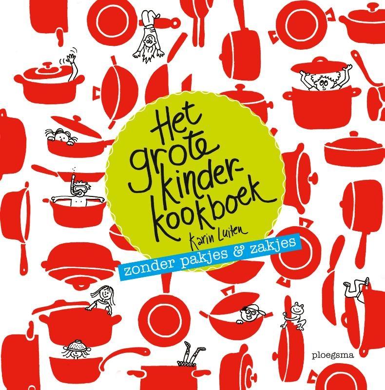 Karin Luiten,Het grote kinderkookboek