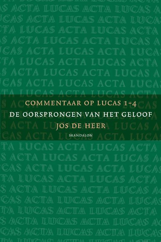 Jos de Heer,3-pak Commentaar op Lucas