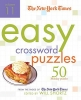 The New York Times Easy Crossword Puzzles,50 Monday Puzzles from the Pages of the New York Times