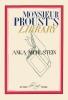Muhlstein, Anka,Monsieur Proust`s Library