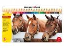 ,kleurpotloden Eberhard Faber Classic metaaletui a 36 stuks