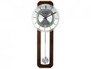 <b>Wandklok Nextime 32 x 80 cm, melkglas & hout, `Retro        Pendulum` Radio Controlled</b>,