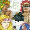 <b>Julia  Woning</b>,Kleurrijke volken van de wereld kleurboek
