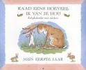 <b>Sam  McBratney</b>,Mijn eerste jaar Babykalender met stickers bij Raad eens hoeveel ik van je hou