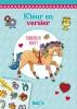 ,<b>Kleur en versier Paarden en pony`s (met wrijfplaatjes)</b>