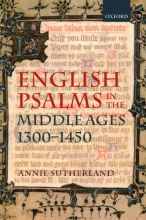 Sutherland, Annie English Psalms in the Middle Ages, 1300-1450