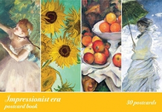 Impressionist Era Postcard Book