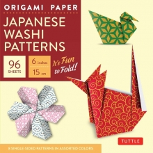 Origami Paper - Japanese Washi Patterns