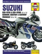 Haynes Publishing Suzuki GSX-R750 & GSX-R1100, GSX600F, GSX750F & GSX1100F (Katanas) (86 - 96)