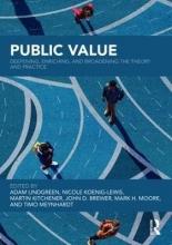 Adam Lindgreen,   Nicole Koenig-Lewis,   Martin Kitchener,   John D Brewer Public Value