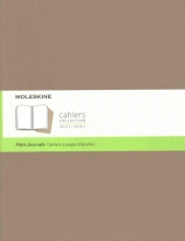 Moleskine Cahier Journal Extra Extra Large Plain Kraft Brown