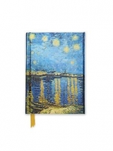 Van Gogh: Starry Night over the Rhone (Foiled Pocket Journal