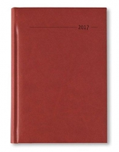 Buchkalender A5 2017 Tucson rot