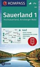 , Sauerland 1, Hochsauerland, Arnsberger Wald 1:50 000