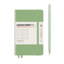 , Leuchtturm notitieboek pocket 90x150 dots sage