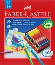 kleurpotlood Faber Castell GRIP studiobox a 36 stuks