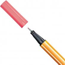 , Fineliner STABILO point 88/040 neon rood