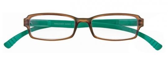 , Leesbril hangover g45600 bruin/turquoise 1.00