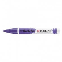 , Brushpen Talens Ecoline 507 ultramarijnviolet